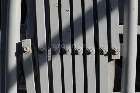 工事現場のゲートの写真素材 [FYI01263988]