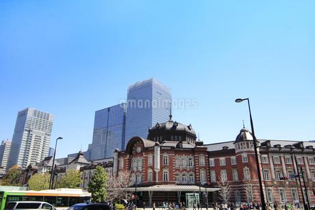 東京駅の写真素材 [FYI01264083]