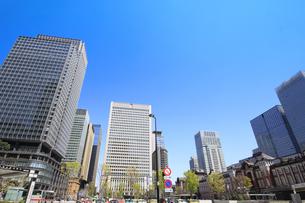 東京駅の写真素材 [FYI01264085]