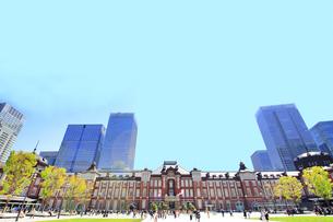 東京駅の写真素材 [FYI01264086]