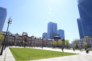東京駅の写真素材 [FYI01264087]