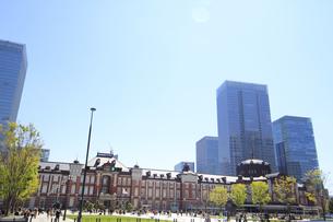 東京駅の写真素材 [FYI01264088]