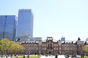 東京駅の写真素材 [FYI01264089]
