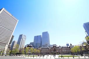 東京駅の写真素材 [FYI01264091]