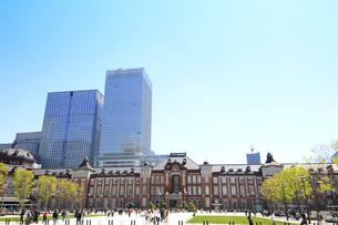東京駅の写真素材 [FYI01264092]
