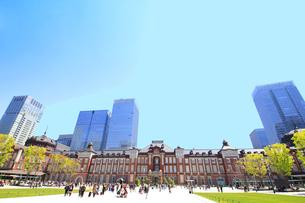 東京駅の写真素材 [FYI01264096]