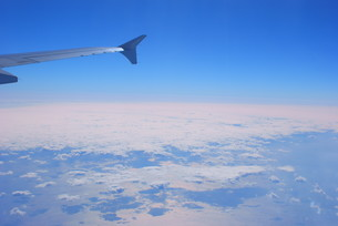 飛行機からの風景の写真素材 [FYI01264191]