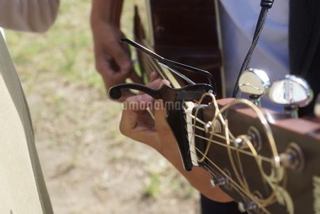 ギターイメージの写真素材 [FYI01264197]