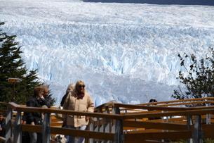 ペリト・モレノ氷河の写真素材 [FYI01264229]