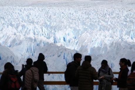 ペリト・モレノ氷河の写真素材 [FYI01264230]