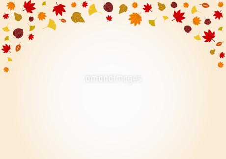 秋の紅葉 背景素材のイラスト素材 [FYI01264443]