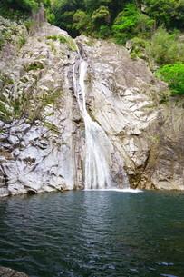 マイナスイオン溢れる布引の滝の写真素材 [FYI01264644]
