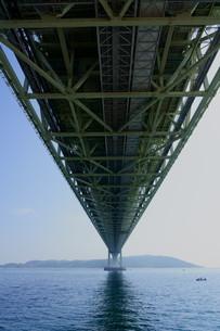 下から見た橋の写真素材 [FYI01264647]