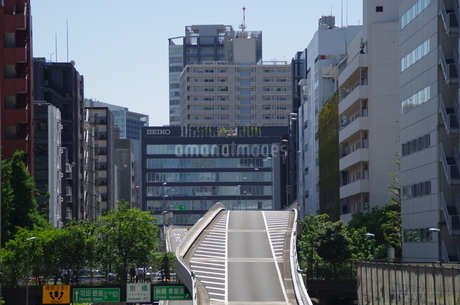 首都高京橋口の写真素材 [FYI01264702]