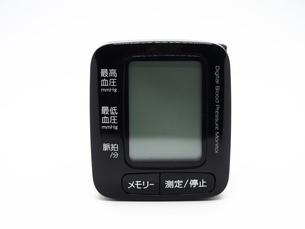 手首式血圧計の写真素材 [FYI01264722]