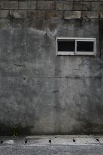 古い建物壁に小さい窓の写真素材 [FYI01264750]
