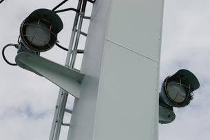 船上のサービスライトの写真素材 [FYI01264758]
