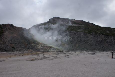 川湯硫黄山の写真素材 [FYI01264784]
