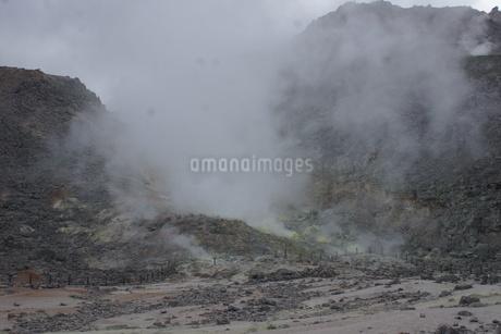 川湯硫黄山の写真素材 [FYI01264787]