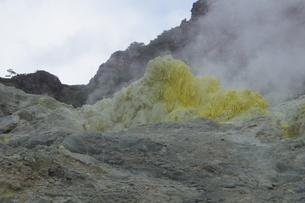 川湯硫黄山の写真素材 [FYI01264789]