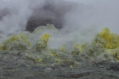 川湯硫黄山の写真素材 [FYI01264790]