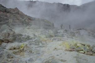 川湯硫黄山の写真素材 [FYI01264794]