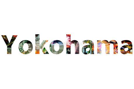 横浜(YOKOHAMA)ロゴの写真素材 [FYI01265078]