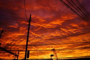 夕景イメージの写真素材 [FYI01265119]