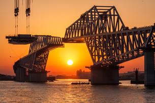 東京ゲートブリッジ(建設中)の写真素材 [FYI01265211]