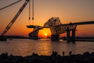 東京ゲートブリッジ(建設中)の写真素材 [FYI01265213]