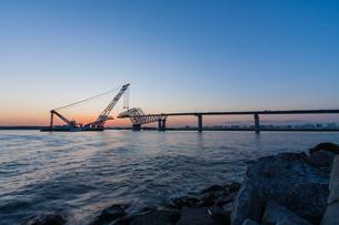 東京ゲートブリッジ(建設中)の写真素材 [FYI01265222]