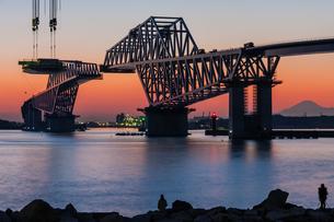 東京ゲートブリッジ(建設中)の写真素材 [FYI01265227]