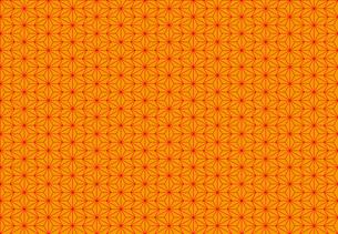 麻の葉のパターンのイラスト素材 [FYI01265533]