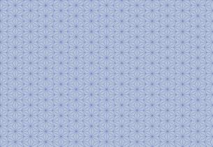 麻の葉のパターンのイラスト素材 [FYI01265534]