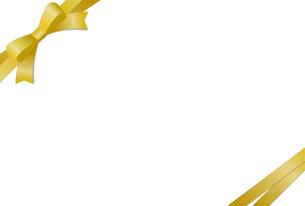 リボン付きカードテンプレートのイラスト素材 [FYI01265630]
