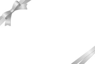 リボン付きカードテンプレートのイラスト素材 [FYI01265633]