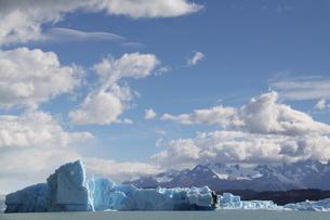 パタゴニアの氷河の写真素材 [FYI01265858]
