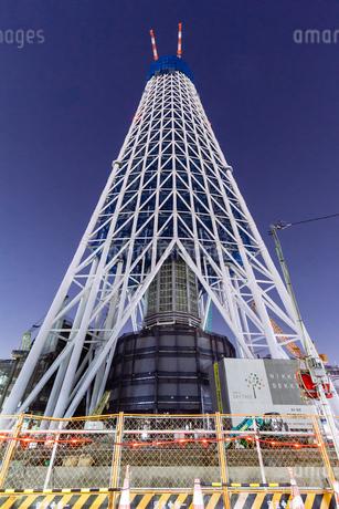 東京スカイツリー(建設中)の写真素材 [FYI01266210]