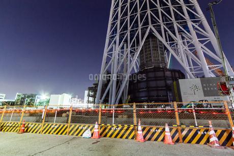 東京スカイツリー(建設中)の写真素材 [FYI01266211]