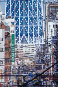 東京スカイツリー(建設中)の写真素材 [FYI01266213]