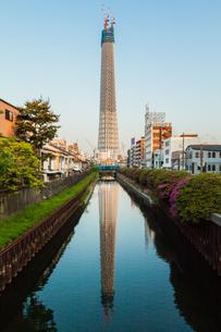 東京スカイツリー(建設中)の写真素材 [FYI01266218]
