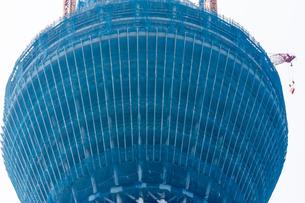 東京スカイツリー(建設中)の写真素材 [FYI01266241]