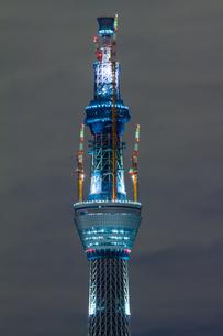 東京スカイツリー(建設中)の写真素材 [FYI01266249]