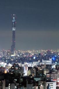 東京スカイツリー(建設中)の写真素材 [FYI01266254]