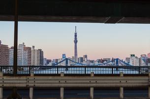 東京スカイツリー(建設中)の写真素材 [FYI01266255]