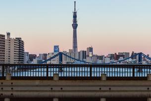 東京スカイツリー(建設中)の写真素材 [FYI01266256]