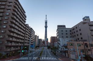 東京スカイツリー(建設中)の写真素材 [FYI01266259]