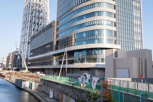 東京スカイツリー(建設中)の写真素材 [FYI01266261]