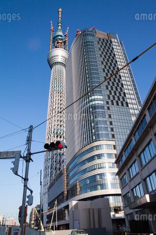 東京スカイツリー(建設中)の写真素材 [FYI01266262]