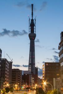 東京スカイツリー(建設中)の写真素材 [FYI01266263]